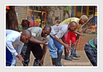 Gumboot dancing, Soweto, Kliptown