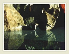 A Lake inside the Sterkfontein Caves