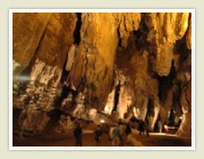 The Sterkfontein Caves where Mrs. Ples was discovered